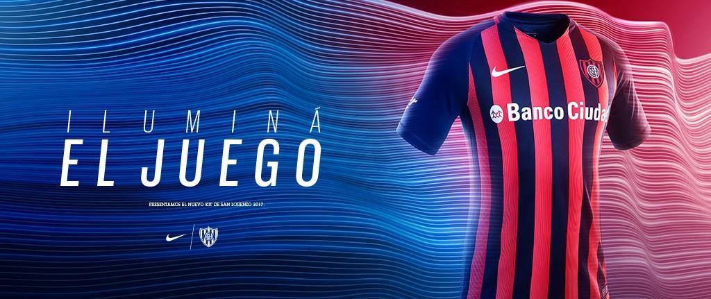 Oficial: Nueva camiseta titular Nike de San Lorenzo para el 2017