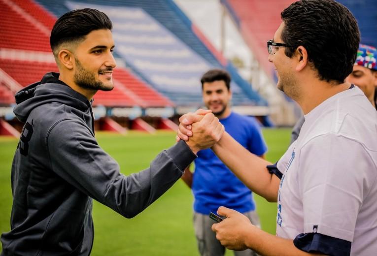 La tienda online Soy Cuervo organizó un Meet and Greet con los jugadores de San Lorenzo